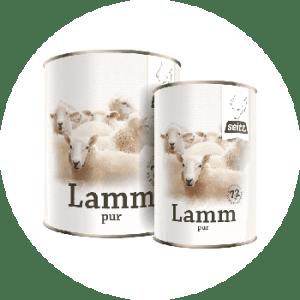 Lamm pur – Nassfutter
