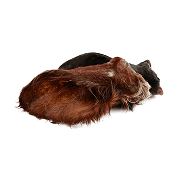 Kalbsohren mit Fell – Kauartikel